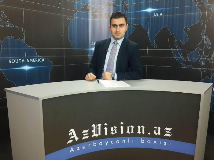 AzVision TV:Die wichtigsten Videonachrichten des Tages auf Deutsch(10 Mai)-VIDEO