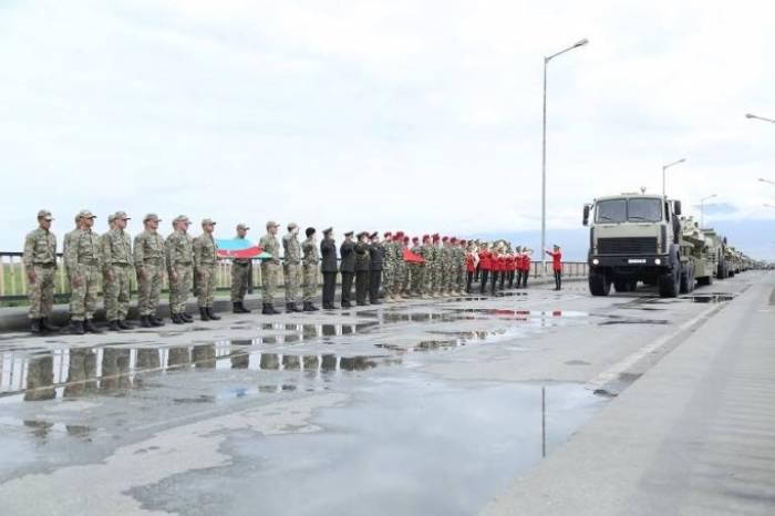 Naxçıvan Ordusu Türkiyə ilə birgə təlimlərə başlayır-