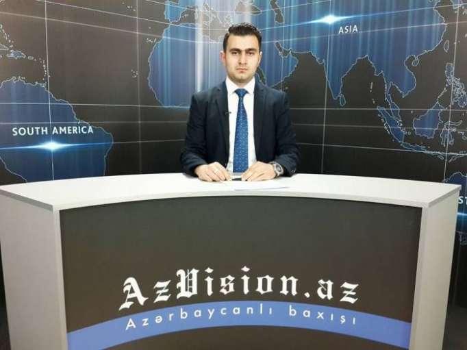 AzVision TV:Die wichtigsten Videonachrichten des Tages auf Deutsch(15 Mai)-VIDEO