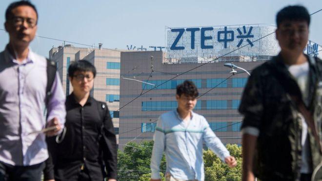 ترامب يسعى لإنقاذ واحدة من كبريات الشركات الصينية