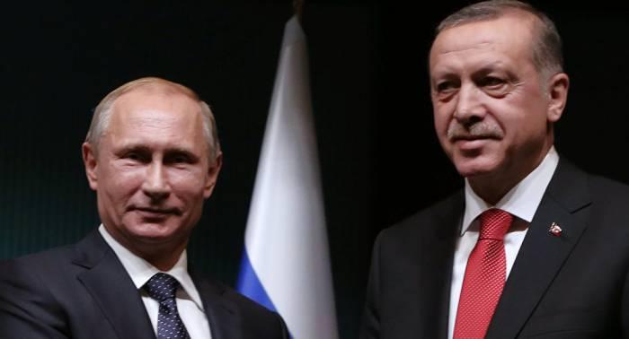Putin Ərdoğanla Fələstindəki vəziyyəti müzakirə edib