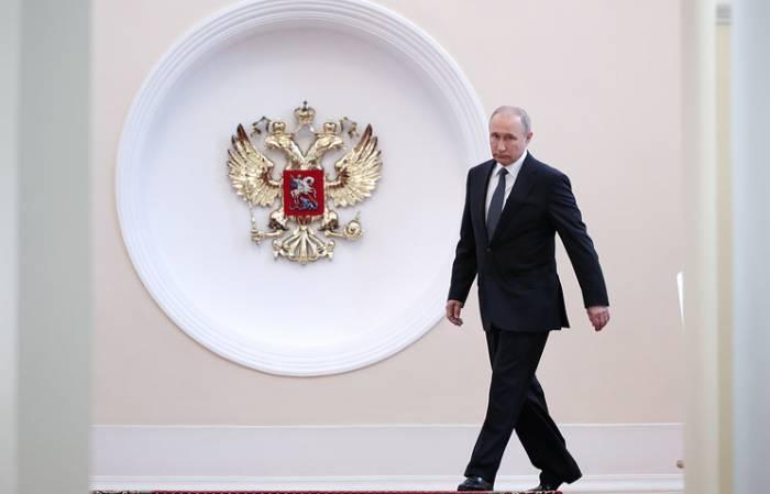 Putin dördüncü dəfə and içdi -