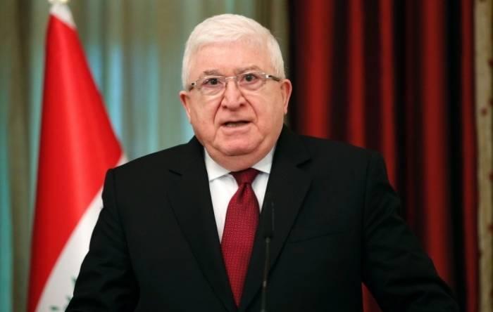 İraq prezidenti İlham Əliyevə məktub göndərib