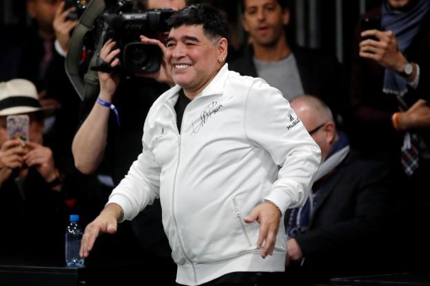 Maradona futur coach et président du Dinamo Brest en Biélorussie