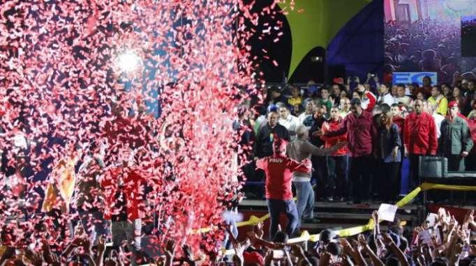 Maduro gewinnt Präsidentschaftswahl in Venezuela