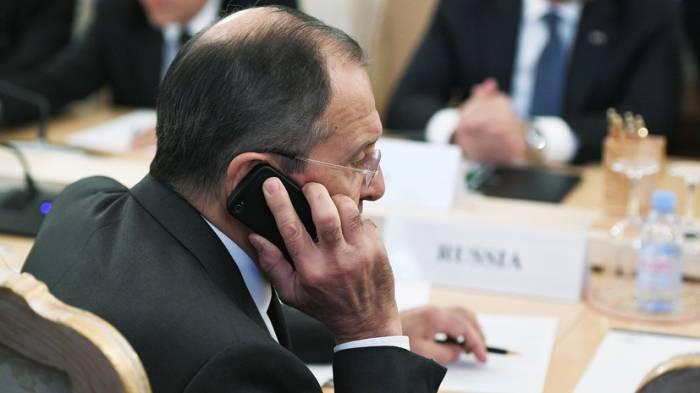 Lavrovla Pompeo telefon əlaqəsi saxlayıb