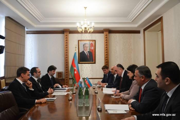 Azərbaycanla San Marino arasında memorandum imzalanıb