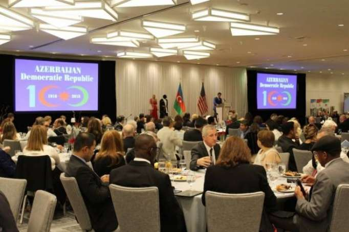 Los Angeles feiert den 100. Jahrestag der Demokratischen Republik Aserbaidschan