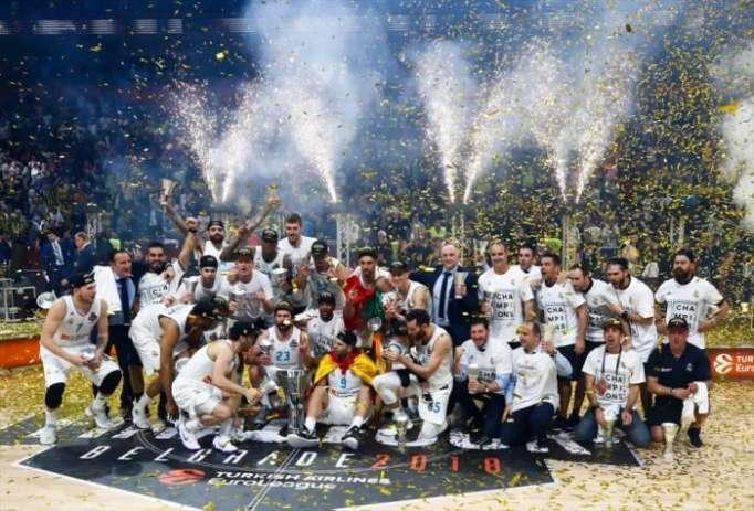 ريال مدريد بطلًا للدوري الأوروبي للمرة العاشرة
