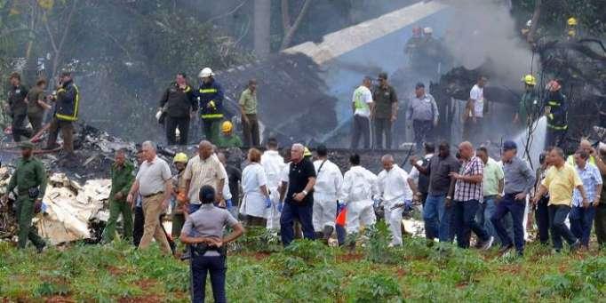Crash à Cuba : nouveau bilan de 110 morts et trois blessés