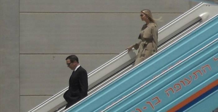 ايفانكا تصل للمشاركة في مراسم نقل السفارة الأمريكية إلى القدس-فيديو