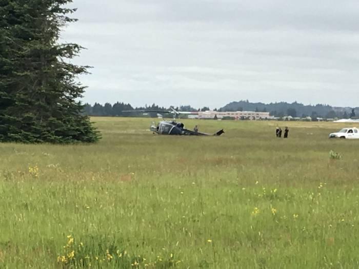 EE.UU.: Dos heridos tras accidente de un helicóptero en Washington