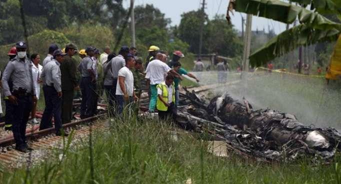 Identifican 20 de los 110 muertos en accidente aéreo en La Habana