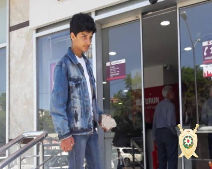 Bakıda bank soymaq istəyən şəxs saxlanıldı - FOTO