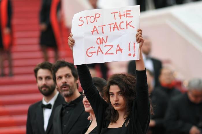 À Cannes, une actrice dénonce la répression israélienne à Gaza sur le tapis rouge