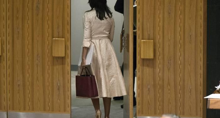 Nikki Haley abandona el Consejo de Seguridad durante el discurso del embajador palestino