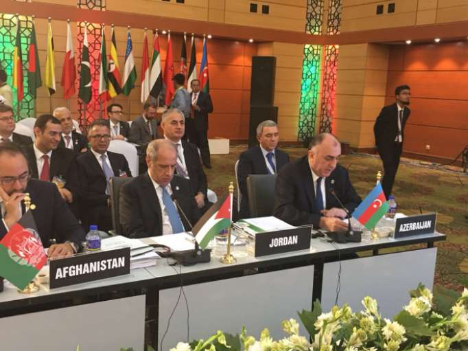Azerbaijani FM made speechat 45th session of Council of Foreign Ministers of OIC
