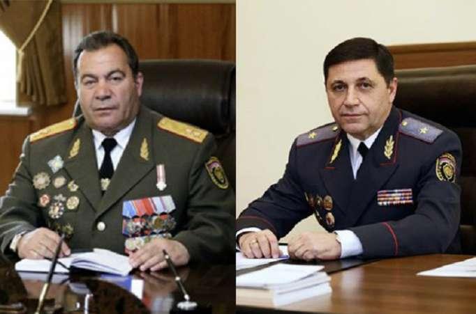 Erməni generallar işdən qovuldu - (VİDEO)