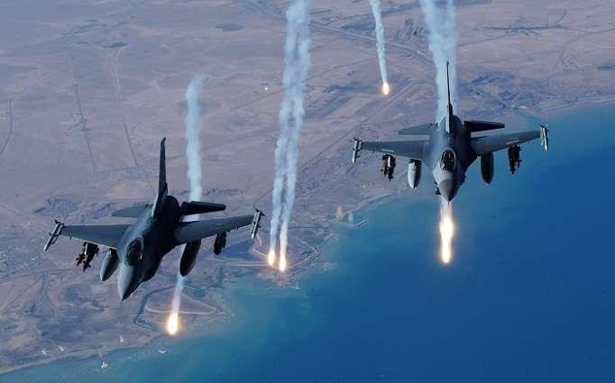 İsrail Suriyanı belə bombaladı - VİDEO