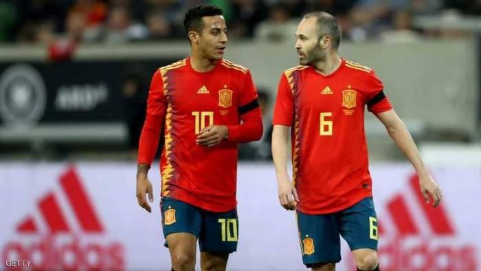"""اختيارات """"صادمة"""" بتشكيلة إسبانيا في المونديال"""