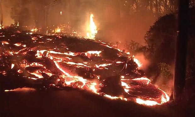 Hawaii volcano: