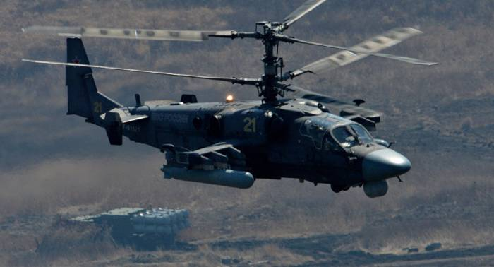 Russian helicopter crash in Eastern Syria kills two - Russian MoD