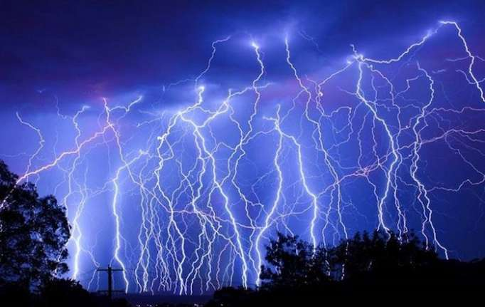 Lightning, heavy rain expected in some places tomorrow