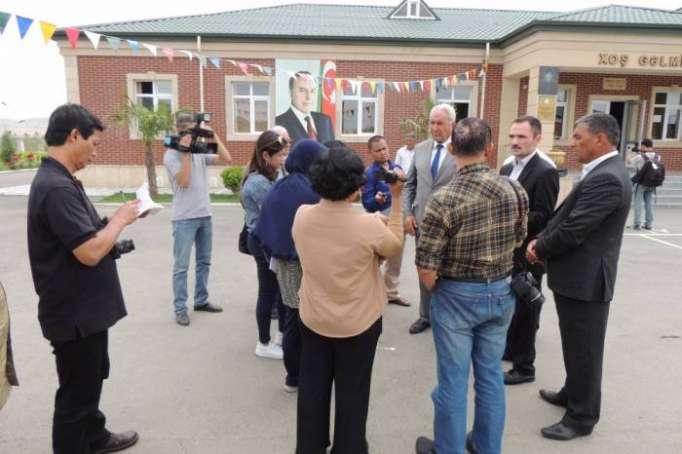 Indonesian journalists visit Jojug Marjanli