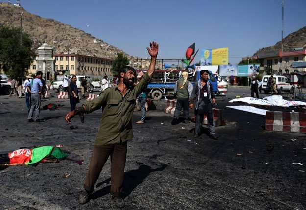 Three blasts rock Afghan capital of Kabul, casualties feared