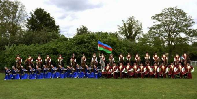 Karabakh horses stun audience at Royal Windsor Show