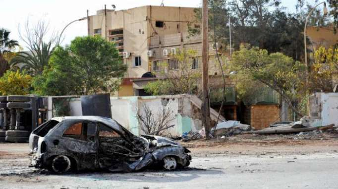 At least six killed by car bomb in Benghazi, Libya