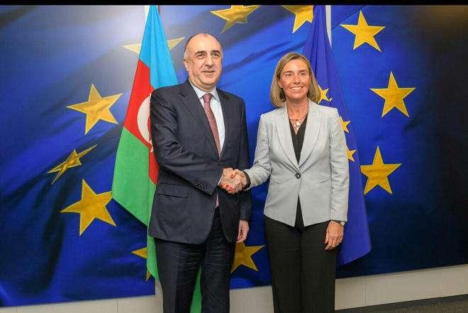 Elmar Mammadyarov met with the EU High Representative
