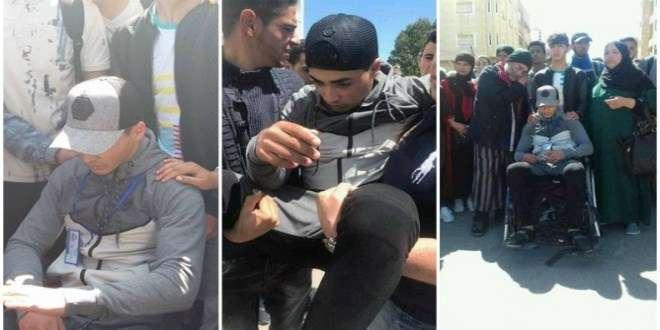 Protestas en el Norte de Marruecos por la paliza de las fuerzas auxiliares a un estudiante