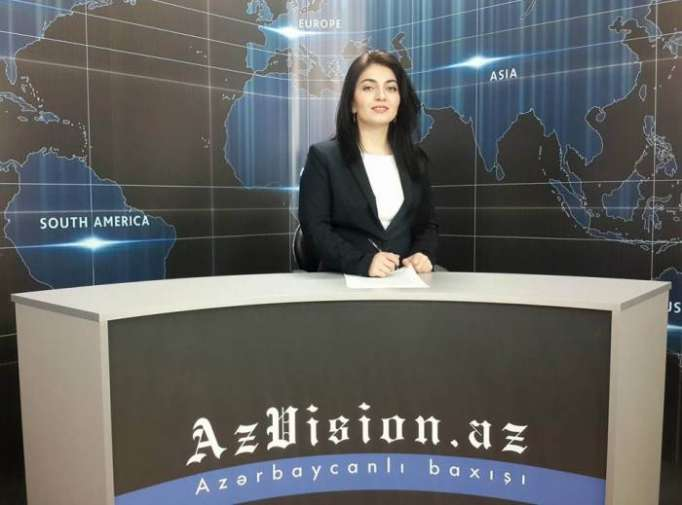 AzVision TV releases new edition of news in English for October 19- VIDEO