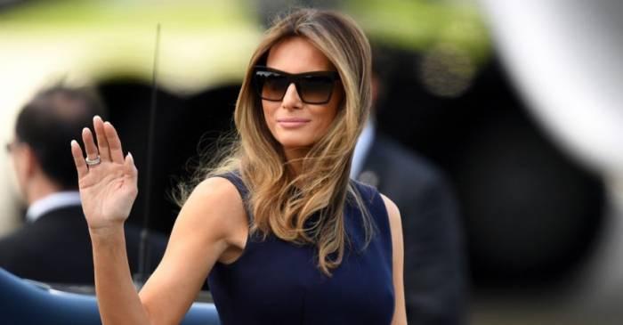 Melania Trump de retour à la Maison Blanche