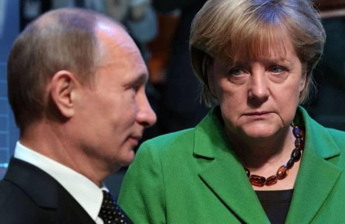 Poutine et Merkel discutent du projet du gazoduc Nord Stream 2 à Sotchi