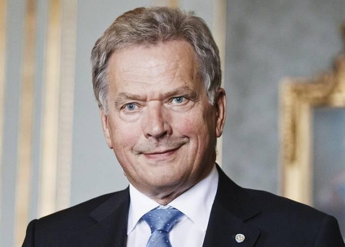 Finlandiya prezidenti İlham Əliyevi təbrik edib