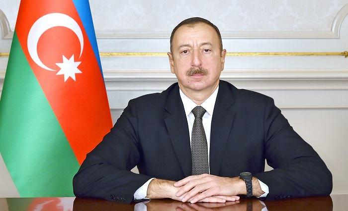 Ilham Aliyev inaugure le Port de commerce maritime international de Bakou