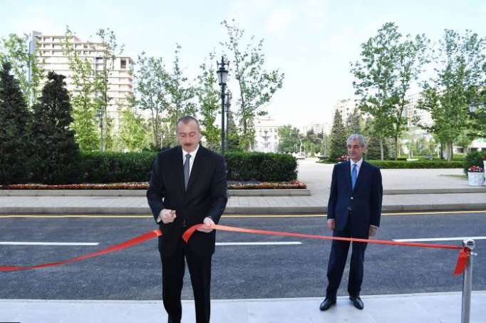 President Ilham Aliyev inaugurates new administrative building of YAP - PHOTOS