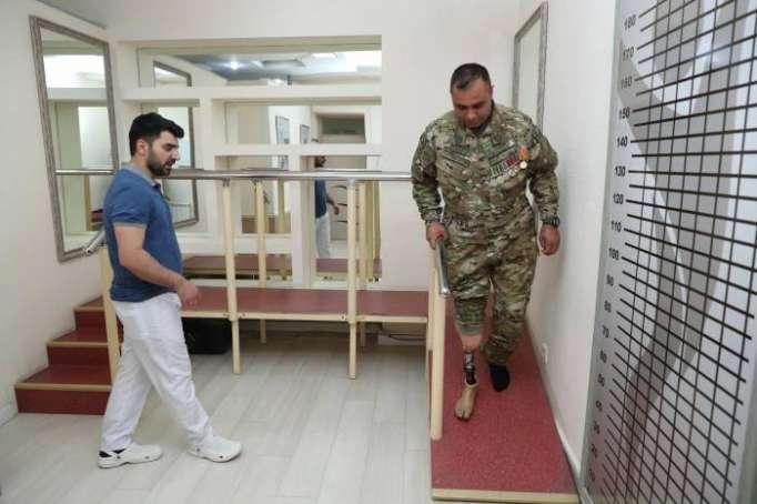Qarabağ əlilləri protezlərlə təmin olunub - VİDEO