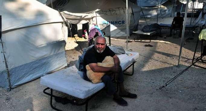 Varios heridos por alboroto en un campo de refugiados griego