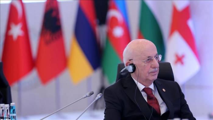 رئيس البرلمان التركي يدعو إلى عدم الصمت حيال ما يحدث في فلسطين