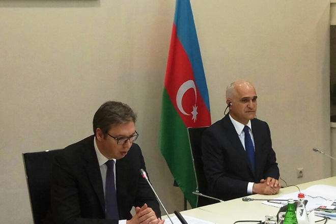 Serbia invites Azerbaijan to participate in modernization of its railway system