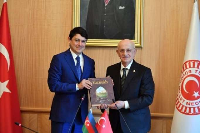 """TBMM sədri: """"Qarabağ bizim milli məsələmizdir"""""""