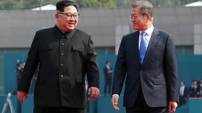 Koreya liderləri yenidən görüşdü