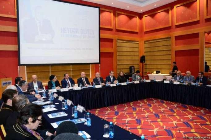 "Conference ""Heydar Aliyev and National-Spiritual Values"" underway in Baku"
