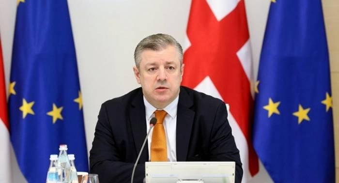 Le Premier ministre géorgien annonce sadémission