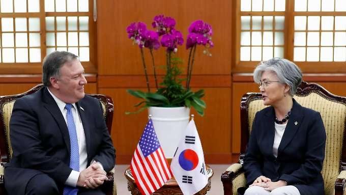 Pompeo macht Druck auf Nordkorea