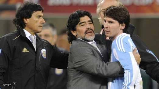 ميسي ومارادونا.. مطالبة أرجنتينية بالتوقف عن المقارنة