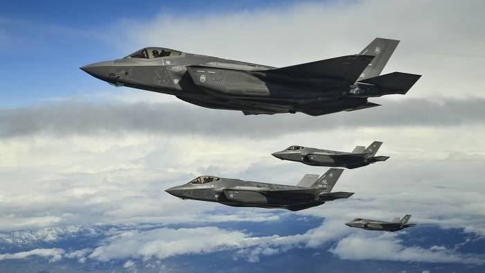 """ABŞ Türkiyəyə iki ədəd """"F-35"""" verdi"""